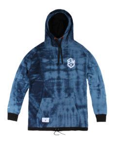 bluza elementary Mini logo SB hoodie hipi blu