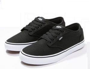 buty vans atwood black/white