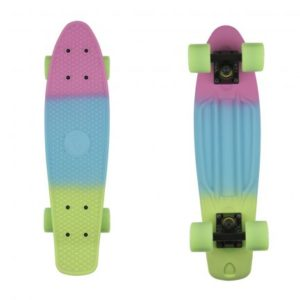deskorolka fishka fish skateboards Pink Blue Green/Black/Green