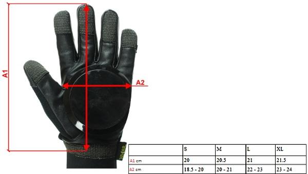 rękawice longboardowe ninetysixty