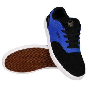 Buty DVS Lucid '14 (blk/blu/sud) czarno-niebieskie