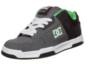 Buty DC Stag (black/grey/green)