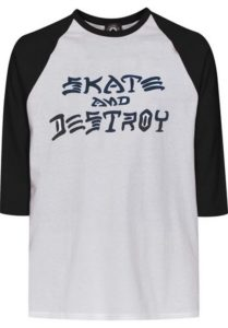 Koszulka Thrasher Skate and Destroy Raglan 3/4 XL