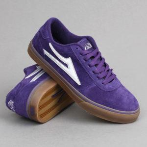 buty Lakai manchester purple / gum suede