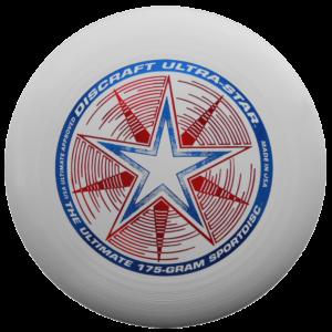 DYSK FRESBEE DISCRAFT 175g. ULTRA STAR. biały