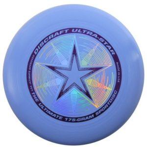 DYSK FRESBEE DISCRAFT 175g. ULTRA STAR. błękitny
