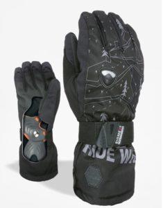 Rękawice Level Fly Jr (black/grey)