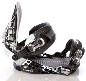 Wiązania snowboardowe Raven s600 Black SM 2012
