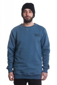 bluza PALTO CREWNECK GHOST EYE BLUE