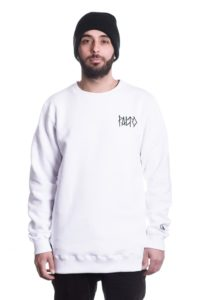 bluza PALTO CREWNECK GHOST EYE WHITE