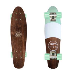 deskorolka fishka Fish skateboards Cruiser Fish/Summer Green/Summer Green