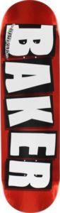 Deska Baker Brand Logo Red Foil 8.0
