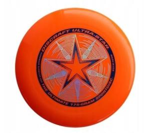DYSK FRESBEE DISCRAFT 175g. ULTRA STAR. pomarańczowe