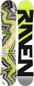 Deskas snowboardowa raven core carbon 2020