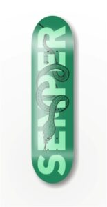 deck SEMPER Snake green 8.25