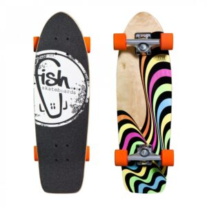 deskorolka fishskateboards Cruiser Neo/Silver/Orange
